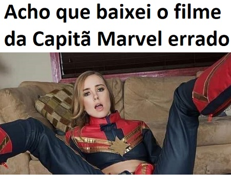 Captain Marvel XXX paródia porno